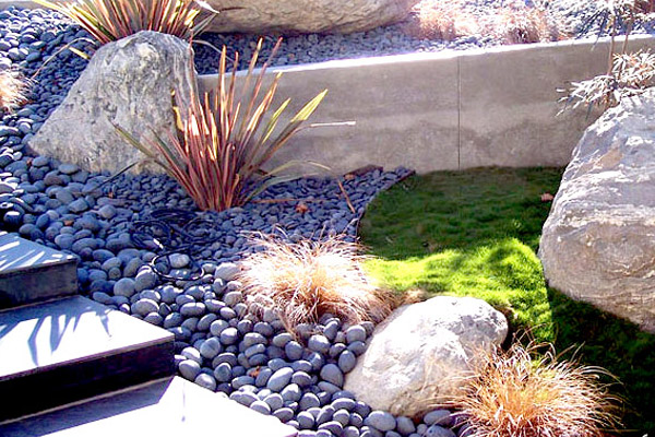 Mexican Beach Pebble - Accents | ALD Architectural Land Design Incorporated - Naples, Florida