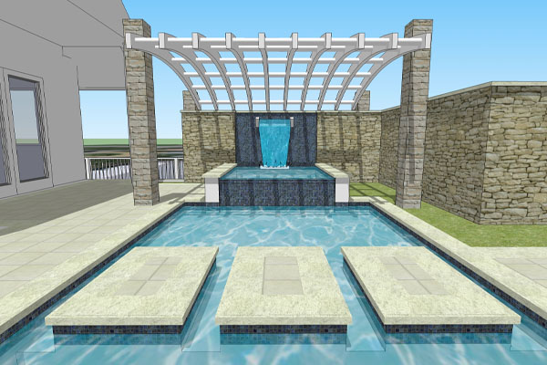 Fountains and Pools | ALD Architectural Land Design Incorporated - Naples, Florida