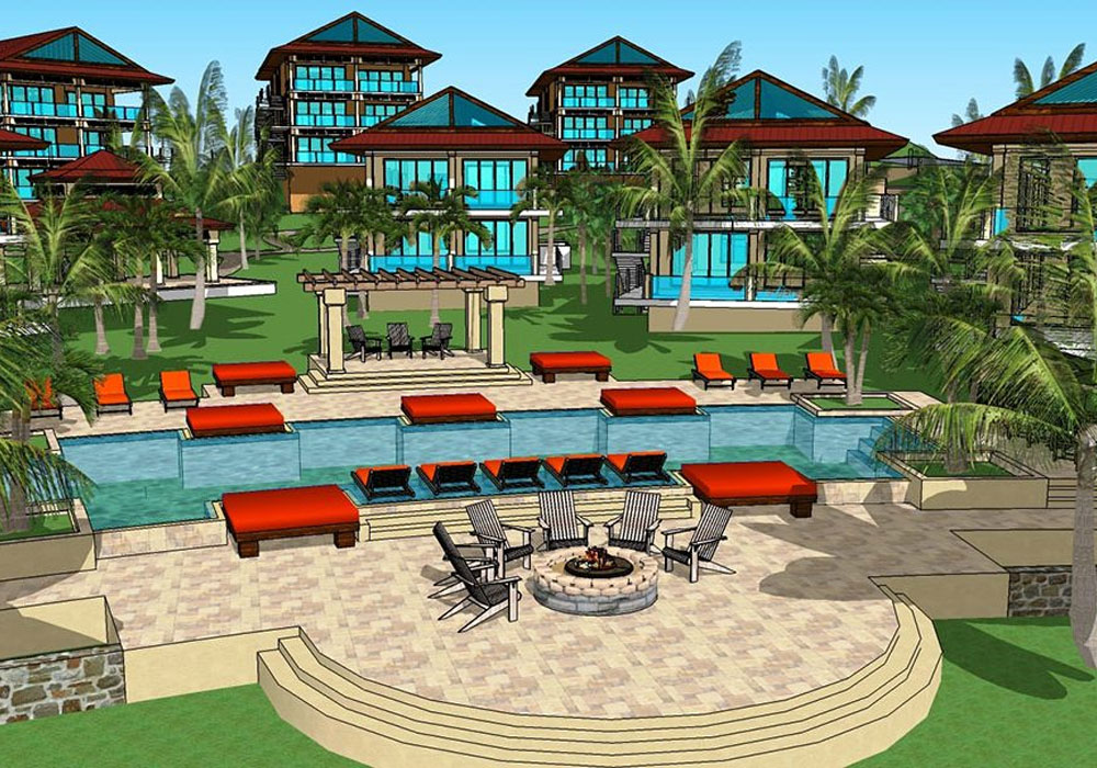 Rendering of a Community | ALD Architectural Land Design Incorporated - Naples, Florida